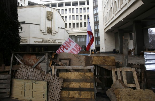 The Verkhovna Rada of Crimea, 27 February 2014