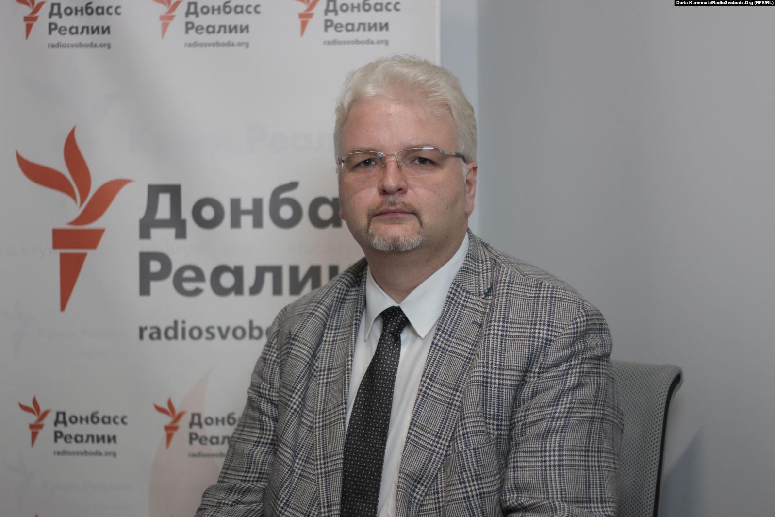 Mykola Hnatovskyi. Photo: Daria Kurenna/RadioSvoboda.Org (RFE/RL)