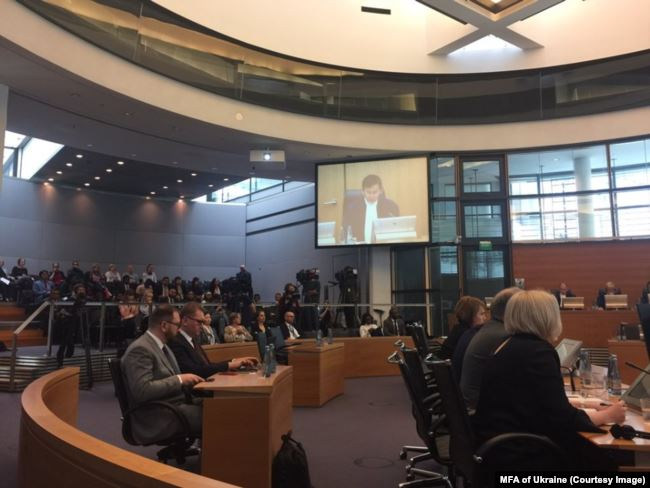 The ITLOS hearing, 25 May 2019. Photo: Ministry of Foreign Affairs of Ukraine